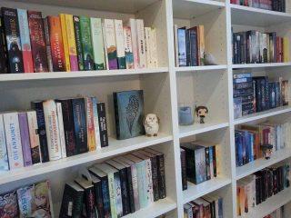 Ein Blick in Charleens Bücherregal