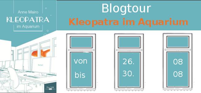 Kleopatra im Aquarium Blogtour