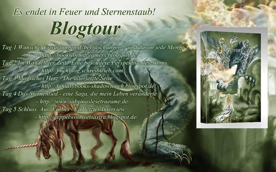 Sternenstaub Blogtour Sylvia Rieß