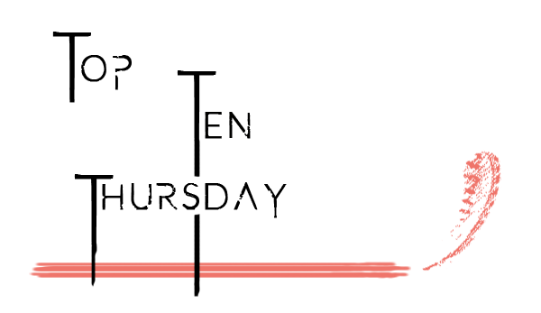 Top Ten Thursday - Wunschlisten