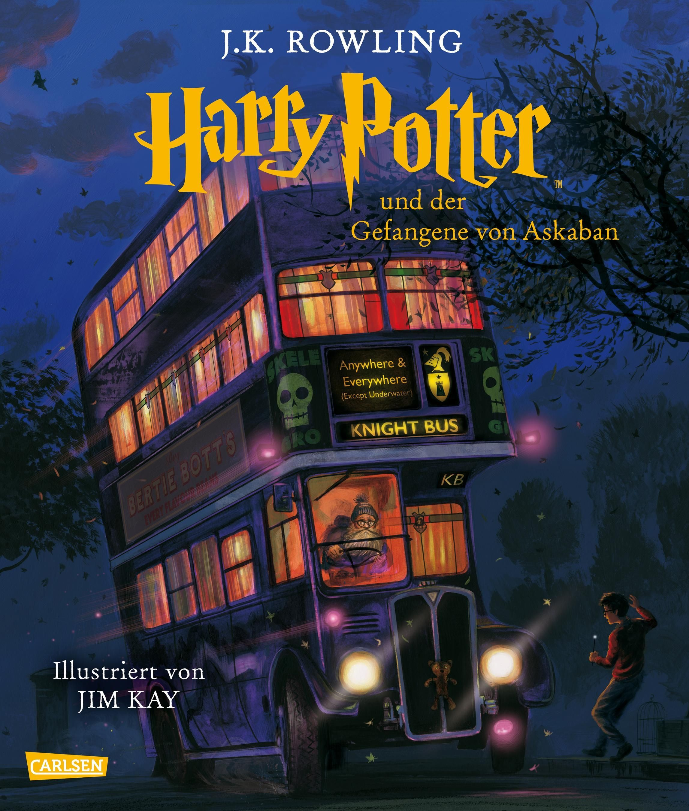 Schmuckausgabe Harry Potter - J.K. Rowling - Carlsen 2017
