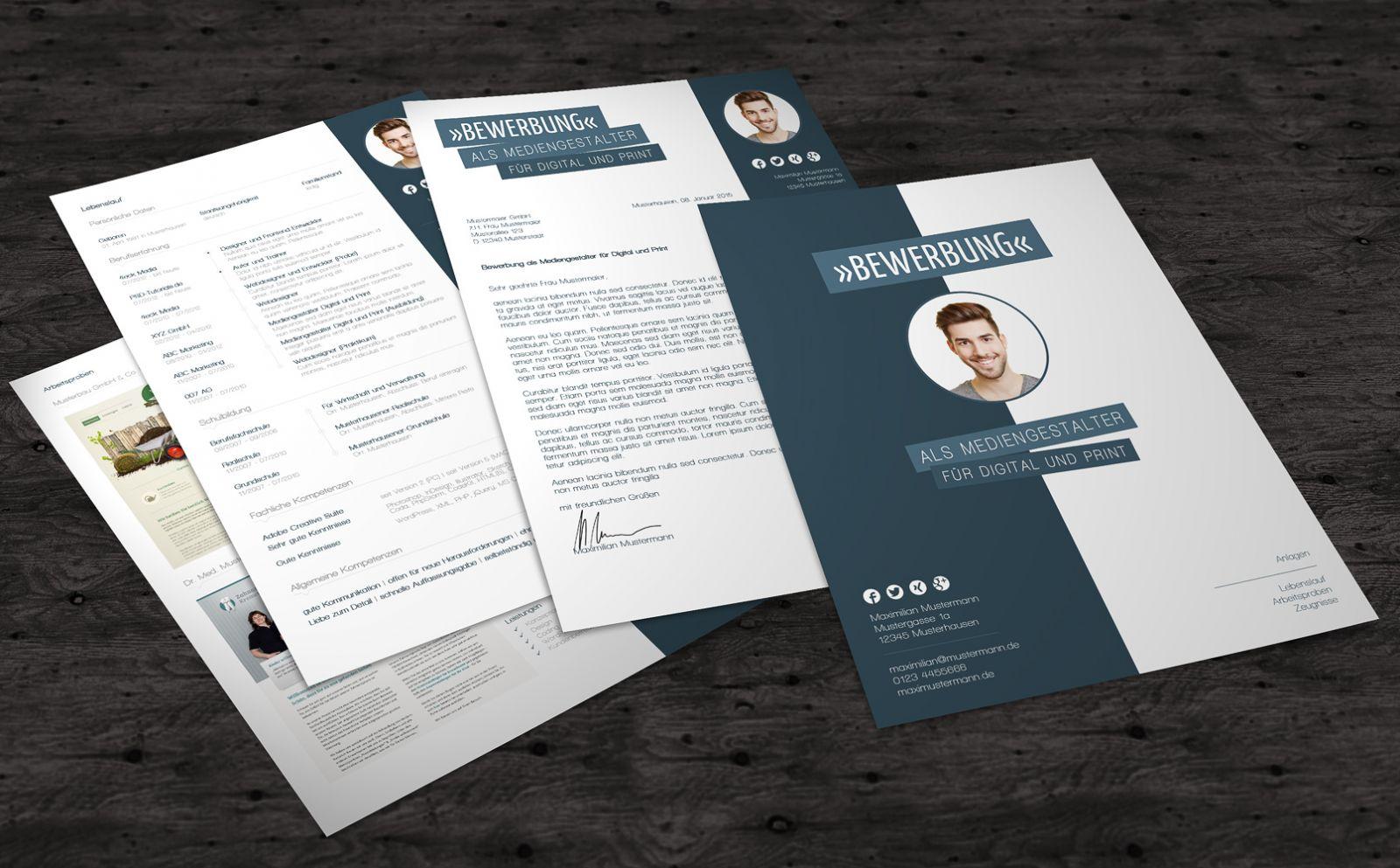 Drachentest] Bewerbungsvorlagen von PSD-Tutorials.de *Werbung ...