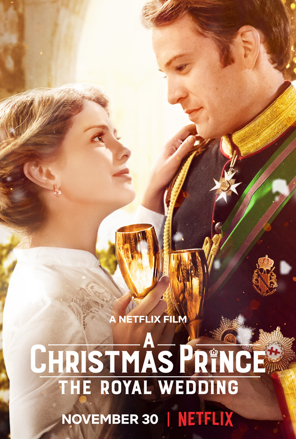 Netflix - A Christmas Prince: The Royal Wedding